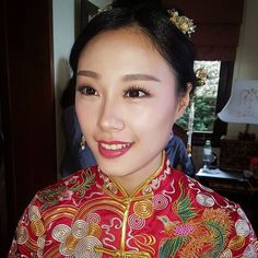How To Do A Traditional Chinese Makeup Wu Meiniang 10 Steps. Chinese Makeup, Glass Skin, Professional Makeup Artist, Traditional Chinese, Makeup Forever, Makeup Trends, Korean Beauty, Skin Makeup