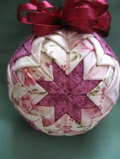Victorian Quilted Ornament
