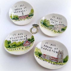 Custom Ceramic Ring Dish