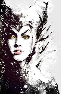 Maleficent art