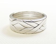 SOLID  Unique Puzzle Rings by PuzzleRingMaker  by PuzzleRingMaker