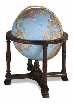 653225 Diplomat (Blue) Floor Globe