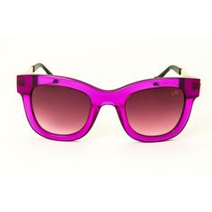 D-Frame Acetate Metal Purple, $55, now featured on Fab.