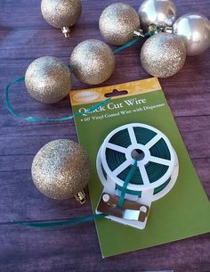 Seasontry: How to Make a Ball Garland