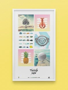 Tropically Yours Art Direction, Graphic Design, Photography