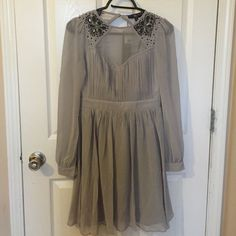 Nwt Beaded Evening Dress