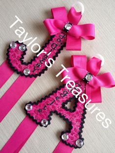 Taylors Treasures   Hair Bow Holder  by taylorstreasuresinc, $9.99