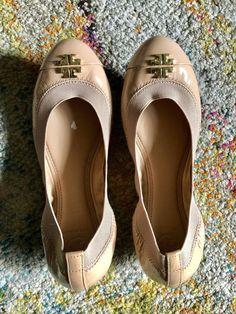 0c7ea7380a5 Tory Burch Jolie Ballet Flat Size 6.5 Nude Light Oak New (Retail  225)   fashion  clothing  shoes  accessories  womensshoes  flats (ebay link)