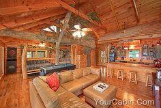 Gatlinburg Cabin Rental: $79/nite Pigeon Forge/gatlinburg Log Cabin ...