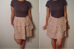 Cute pink skirt. Maker: Best Mountain. 100% cotton. Made in India. Size 38 (S-M)