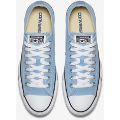 Converse Chuck Taylor All Star Low Top Unisex Shoe. Nike.com (€45) ❤ liked on Polyvore featuring shoes, sneakers, blue, star sneakers, unisex shoes, low profile sneakers, blue sneakers and low profile shoes