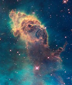 HubbleSite: Jet in Carina  ABOUT THIS IMAGE: Jet in the Carina Nebula taken with Hubble's WFC3 detector