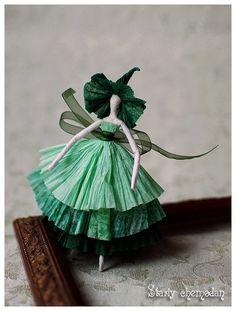 bailarinas de papel paso a paso 4