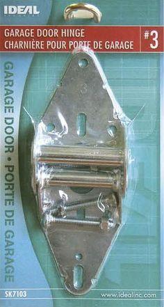 Ideal Security SK7103 GARAGE DOOR HINGE #3 galvanized steel overhead sectional