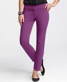 Ann Taylor - AT Pants - Bi-Stretch Skinny Cropped Pants
