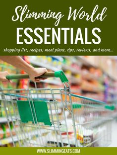 Slimming World Essentials -  Whether you are new or old to food optimising, this list is great for anyone following the Slimming World plan and is your one-stop place for recipes, meal plans, tips, reviews and shopping lists.