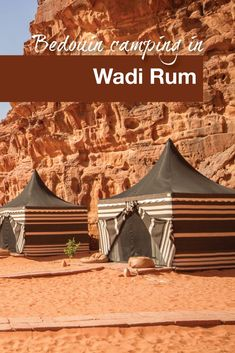 Glamping Life at a Bedouin Camp in the Wadi Rum Desert The WanderingWagars go glamping in Wadi Rum, Jordan!: Glamping Life at a Bedouin Camp in the Wadi Rum Desert The WanderingWagars go glamping in Wadi Rum, Jordan! Places To Travel, Travel Destinations, Places To Visit, Family Adventure, Adventure Travel, Wadi Rum Jordan, Naher Osten, Go Glamping, Jordan Travel