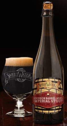 SweetWater Brewing Co. released their Bourbon Barrel-aged Imperial Stout. It's thick, flavorful and smooth, with noticeable wood notes.