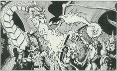 Erol Otus Artist | Dungeons and Dragons Character Art