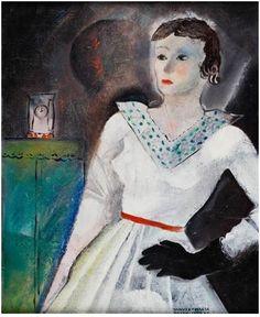 Janusz Maria Brzeski (Polish, ) Title: Portret kobiety , 1931