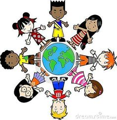 Illustration about Kids, peace around the world. Illustration of earth, harmony, friendly - 10142086 Kids Around The World, Around The Worlds, Pre School, Sunday School, Harmony Day, List Challenges, Challenge Week, Summer Bucket Lists, Children Images