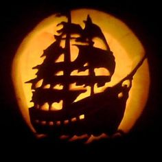 Pirate Ship 2010 this old house pumpkin carving winner