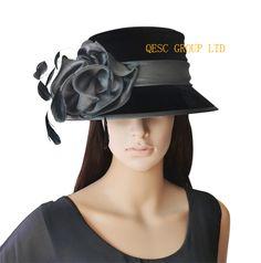 Elegante Iglesia Sombreros - Compra lotes baratos de Elegante Iglesia  Sombreros de China 5ad7ee6cdda