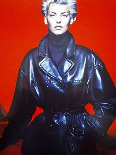 Linda Evangelista | Photography by Nick Knight | For Jil Sander Campaign | Fall 1991