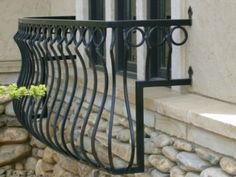 Wrought Iron Window Box