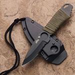 Light and effective,Puma neck knife is the perfect companion and back-up knife,made with plastic molded sheath with boot clip for multiple carry options. #neckknife, #tacticalknife
