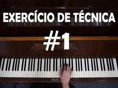 Exercício de Técnica #1 - Coordenação, Velocidade e Postura [Aula de Piano para Iniciantes] - YouTube