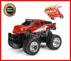 Monster Truck Toy Remote Control Play Vehicles Boys Games Cars Full Function NEW #NewBright