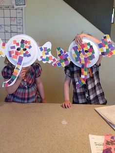 Elmer the Elephant masks from Edina Duncan. #MyElmer
