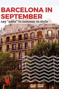 As one of the most happening months, Barcelona in September is the city at its most authentic. Here's what to see and do as summer draws to a close. Barcelona Trip, Soccer Season, Spain Holidays, Places In Europe, Late Summer, Months In A Year, Seville, Lisbon, Fotografia