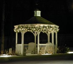 Some Gazebo Lights Ideas - http://everythingcrm.net/some-gazebo-lights-ideas/ : #LightingIdeas Gazebo lights – There are few things to consider when it comes to planning on gazebo lighting especially to serve what you really want to get. Outdoor chandelier and outdoor string lights are the most common lighting fixtures to illuminate the gazebos. Portable patio gazebos are not meat built t...