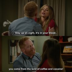 Modern Family - Knock em Down Tv Quotes, Movie Quotes, Funny Quotes, Funny Memes, Modern Family Memes, Family Jokes, Tv Funny, Hilarious, American Dad