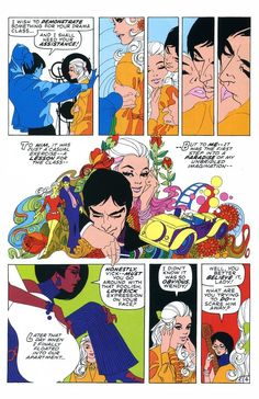 """""""My Heart Broke in Hollywood"""" from My Love (May by Stan Lee and Jim Steranko Jim Steranko, Comic Book Panels, Strange Tales, Romance And Love, Classic Comics, Comic Page, The 5th Of November, Historian, In Hollywood"""