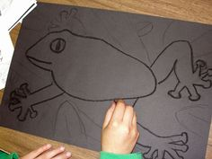 Creative Art Projects for Busy Teachers Forest Crafts, Forest Art, Animal Art Projects, Cool Art Projects, 6th Grade Art, Sixth Grade, Grade 3, Rainforest Animals, Brazil Rainforest