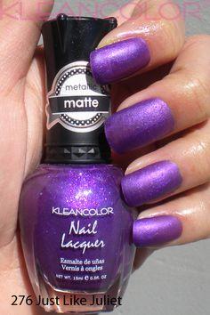 276 Just Like Juliet Mattepolish Matte Polish Diy Nail Nails