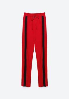 "Zara, pantalon de ""jogging""  9,99 euros au lieu de 15,95 euros"