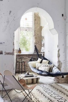 21 times a hammock totally worked indoors how to add a relaxing indoor hammock in your home   indoor hammock      rh   pinterest