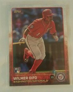 2015 Topps Update Wilmer Difo  #US2 Washington  Nationals Rookie