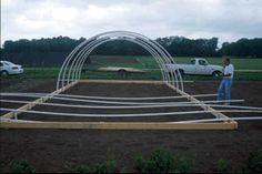 DIY High Tunnels for Extending Your Growing Season #gardening #DIY