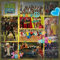 Teen Beach Movie collage made by Kaitlyn's Collages (kaitlynbeasely1)! If you want one please comment!! If you repin please give credit!! :)