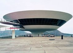 Oscar Niemeyer, Niterói, Photo: Takashi Homma 2002. See our feature on the Museum of Contemporary Art Tokyo's Oscar Niemeyer The Man Who Built Brasilia here » bit.ly/CMFallArtWear.