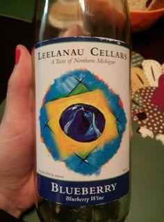 Leelanau Cellars Blueberry Wine