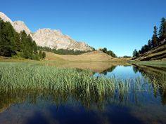 Le Lac Miroir à Ceillac