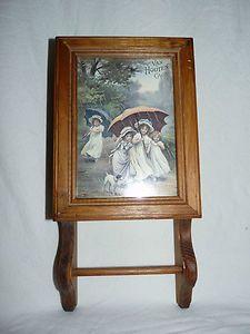 Vintage Wooden Spice Cabinet - SOLD