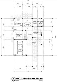 2 Storey Modern Asian Designed House with 4 Bedrooms - House And Decors Two Storey House Plans, 3d House Plans, Modern House Floor Plans, Home Design Floor Plans, Best House Plans, Dream House Plans, Two Story House Design, 2 Storey House Design, Small House Design