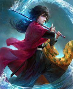 Demon Slayer, Slayer Anime, Fanarts Anime, Anime Characters, Cute Anime Guys, Anime Demon, Anime Art Girl, Animes Wallpapers, Anime Naruto